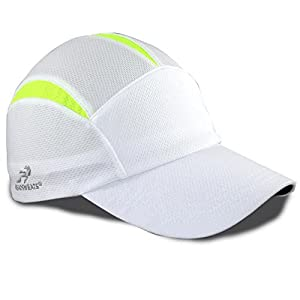 Headsweats Performance Sport Go Hat Cap (White/High Vis Yellow)