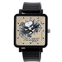 [シチズン時計株式会社 製 Q&Q ウォッチ] Q&Q 腕時計 ウォッチ SNOOPY スヌーピー スケードボーダー Q756-002