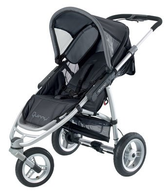 Quinny Speedi SX 3 Wheeler Pushchair - Raven
