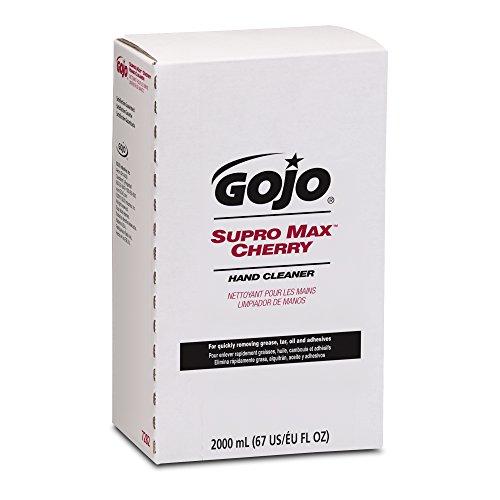 GOJO 7282-04 2000 mL Supro Max Cherry Hand Cleaner, PRO TDX