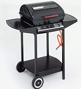 Landmann 12375 2-Burner Gas Barbecue with Lava Rock