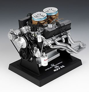 Liberty Classics 84427 1/6 Scale Die Cast Shelby 427 Cobra Engine Replica