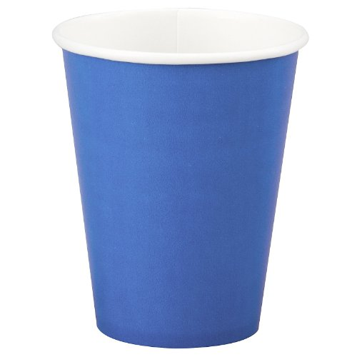 True Blue (Blue) 9 oz. Paper Cups (24)