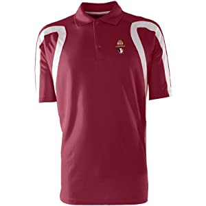 Antigua Florida State Seminoles Mens Point Polo With Bcs Championship Logo by Antigua