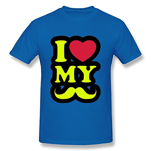 Love Mustache Boy'S Fitted Crazy Tshirt - Ultra Cotton front-677359