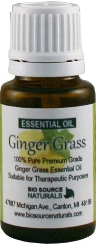Ginger Grass (Zingiber Officinale) Pure Essential Oil 30 Ml / 1 Oz. - Aromatherapy