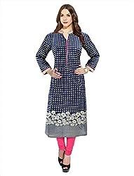 1 Stop Fashion Mustard Colour Color Stitched Cotton Kurti