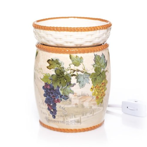 Yankee Candle Wine Collection Ceramic Electric Wax Warmer