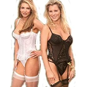 1st Fantasies Classic Lace Ashley Bustier Perfect for Bridal or Anniversary Occasion