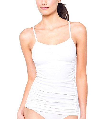LOLE Women's Delicate Tank Top, Large/X-Large, White