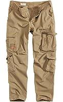 Surplus Raw Vintage Airborne Slimmy Cargo Herren Hose 100 % Baumwolle, S - XXL