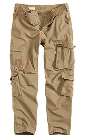 Surplus Airborne Vintage Slimmy Trousers, beige, Größe S