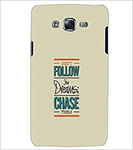 SAMSUNG GALAXY J5 QUOTE Designer Back Cover Case By PRINTSWAG