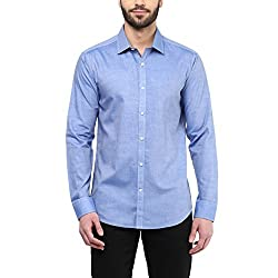 F Factor by Pantaloons Men's Shirt 205000005579069_Blue_40