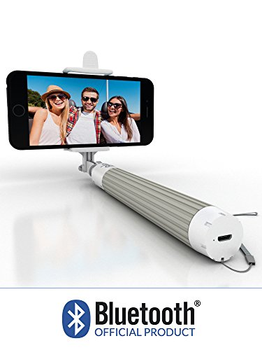 Selfie Stick, Bluetooth Certified Monopod - Advanced Design For All iPhones (iOS 5.0+), Samsung Galaxy, Note, Android Phones (4.2+) - Takes HD Photos, Video, Operates Flash (Lg 3 Accesories compare prices)