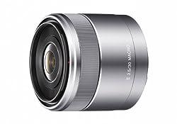 Sony SEL30M35 30mm f/3.5 e-mount Macro Lens (Silver)