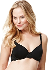 Perfect Fit Lace Underwired T-Shirt A-DD Bra