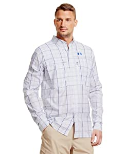 Under Armour Mens UA Flats Guide Plaid Long Sleeve Shirt by Under Armour