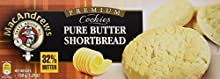 MacAndrews Butter Hourtbread Galletas de Mantequilla con 32% de Manteca - 150 g