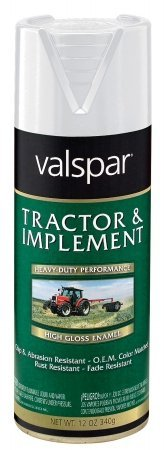 Tractor And Implement Enamel Spray Paint [Set Of 6] Color: Gloss White