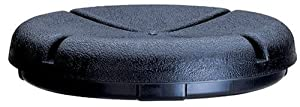 Custom LeatherCraft 1140 EasySeat Lightweight Plastic Bucket Seat for 3 1/2- 5 Gallon Buckets
