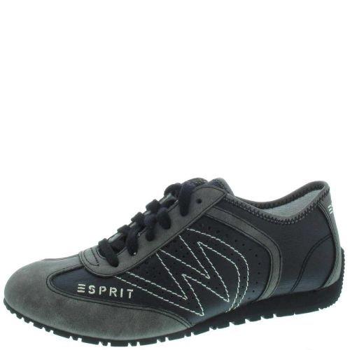 Esprit International Damen Sneaker in schwarz mit Keilabsatz , Schuhgröße:EUR 39