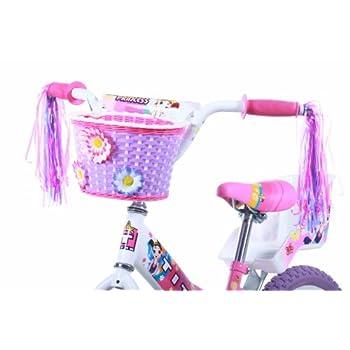 Titan Girl's Flower Princess BMX Bike, Pink, 16-Inch