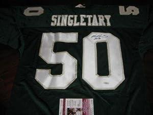Autographed Mike Singletary Jersey - Baylor Jsa coa - Autographed College Jerseys by Sports+Memorabilia