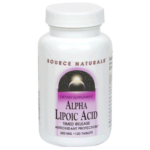 Source Naturals Alpha Lipoic Acid 300mg, 120 Tablets