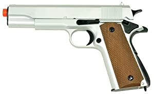 UTG Airsoft UA -961SH 1911 Pistol, Silver