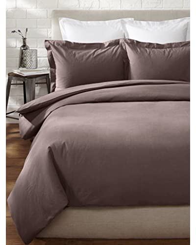 Stitch & Loop Stone Washed Duvet Set