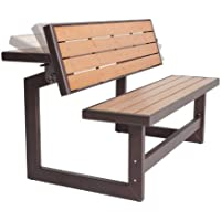 Lifetime Convertible Wood Bench