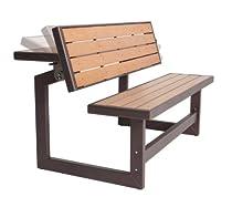 Hot Sale Lifetime Convertible Bench, Faux Wood Construction, # 60054