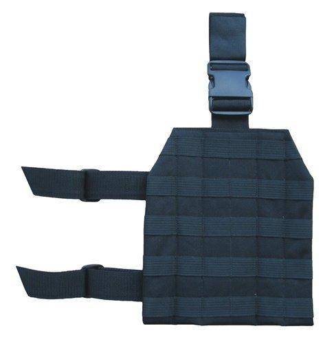 Black Molle Drop Leg Platform Tactical Gear Hunting / Paintball / Airsoft