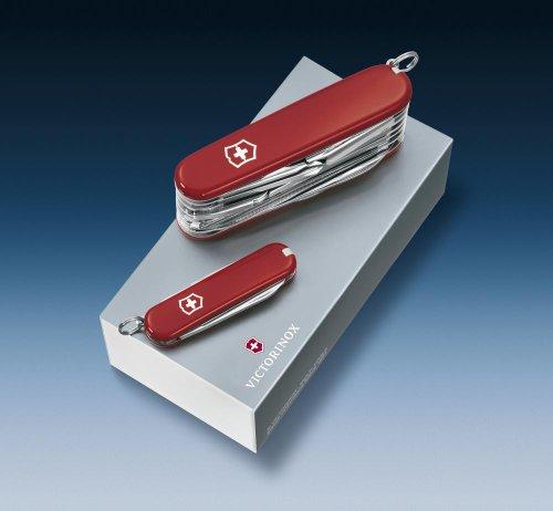 Victorinox Gift Box Duo Classic + Swisschamp Red [Vic18802]