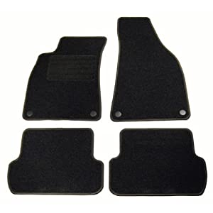 velour floor mats car mats audi a4 8e b6 b7. Black Bedroom Furniture Sets. Home Design Ideas