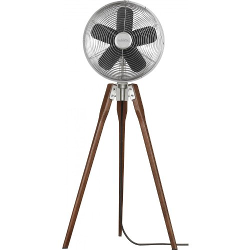 Fanimation Arden Standing Fan - Satin Nickel