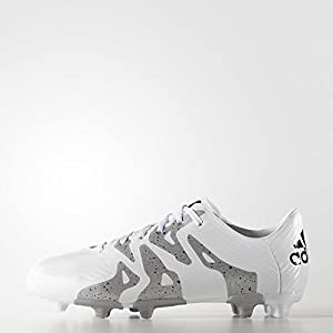 Adidas X 15.3 Youth Firm Ground Cleats [Football White] (13K)
