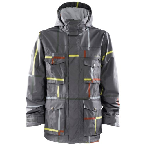 FourSquare Vise Snowboard-Jacke - Cast Iron Lrg Format