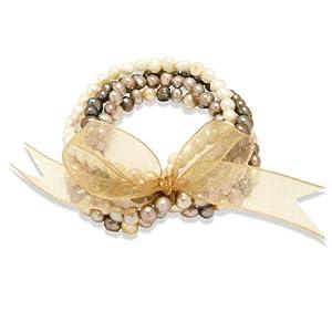 Valero Pearls - 60200114 - Bracelet Argent 925/1000 - Femme - Perles Cultures d'Eau douce