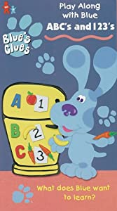 Blue's Clues - ABC's and 1,2,3's [VHS]