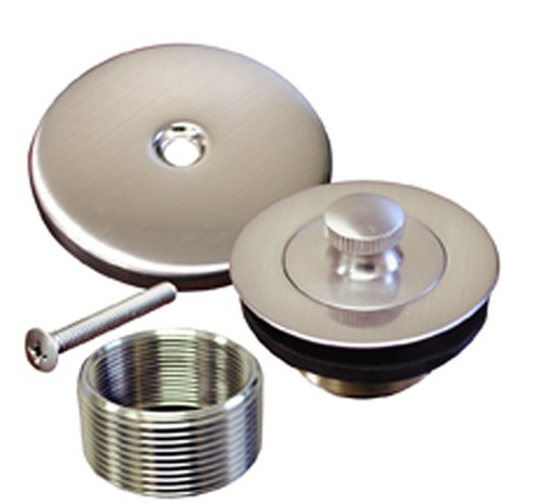 Plumbest B51-60BN Decorative Lift and Turn Bath Waste Conversion Kit, Brushed Nickel