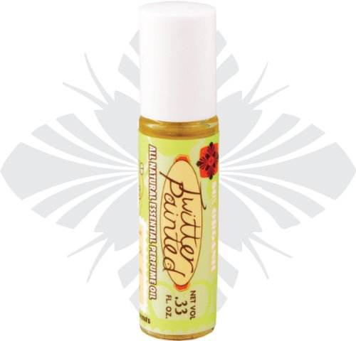 Blissoma Twitter Painted Organic Perfume Oil roll-on with all natural essential oils, no synthetic scent