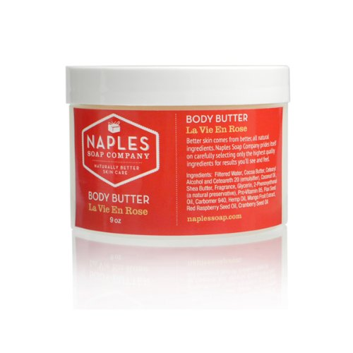 NAPLES SOAP ネープルズソープ Body Butter・ボディバター ラヴィアンローズ