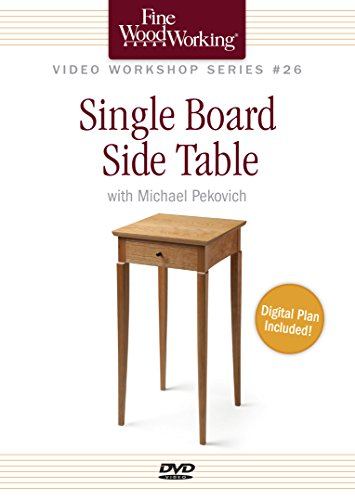 Fine Woodworking Video Workshop Series - Single Board Side Table (Dvd Side Table compare prices)