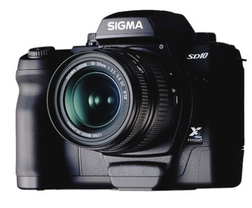 Sigma SD10 (with 18-50mm and 55-200mm Lenses)