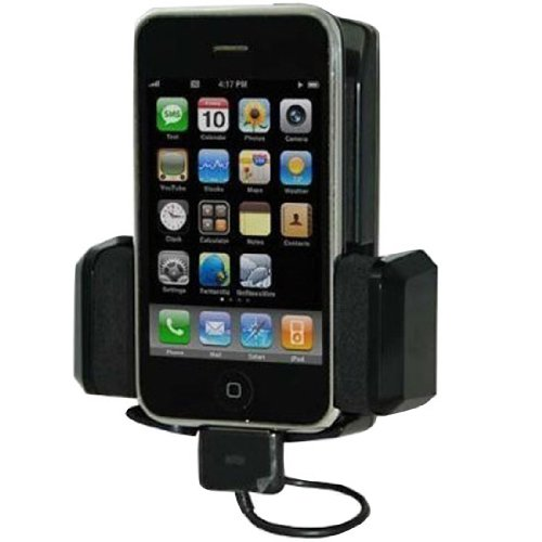 10 in 1 Wireless Automobile FM Transmitter + Car Charger + Holder/Dock + REMOTE for iPod Touch Classic Nano 3G Compatible with iPhone 3G