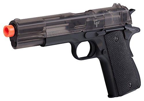 GameFace APGFM311S Crosman GFM311 Full Metal Spring Powered Airsoft Pistol, Smoke