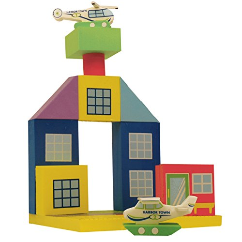 BathBlocks Floating Airport Set in Gift Box - 1