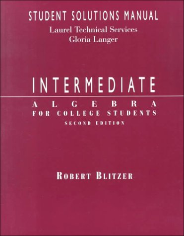 Intermediate algebra 11th edition the bittinger worktext series paperback